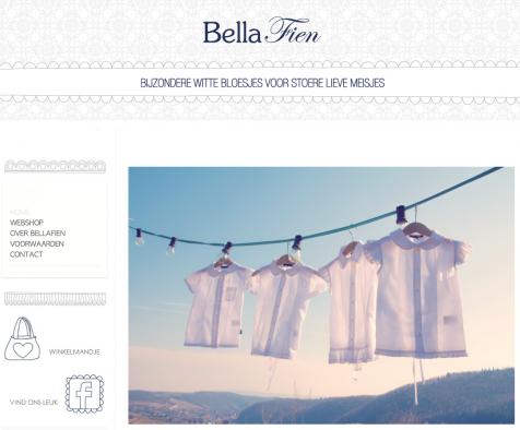 Bellafien website nieuw