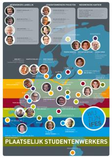 IFES activiteiten kaart