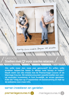 MarriageCourse advertentie