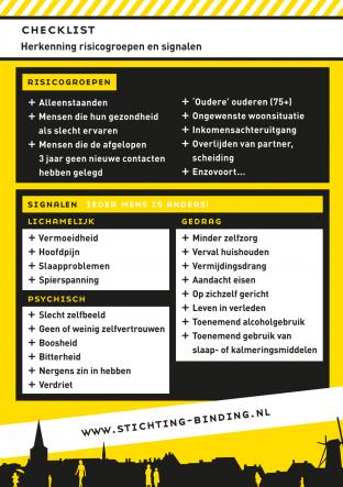 StichtingBinding checklist