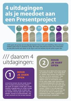 StichtingPresent flyer projectteam